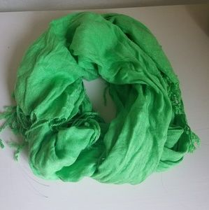 Accessories - Summer Green Scarf